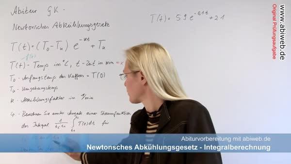 lineare Substitution - Abitur-Vorbereitung