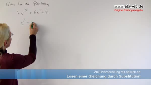 Atemberaubend Lösen Durch Substitution Arbeitsblatt Galerie - Mathe ...
