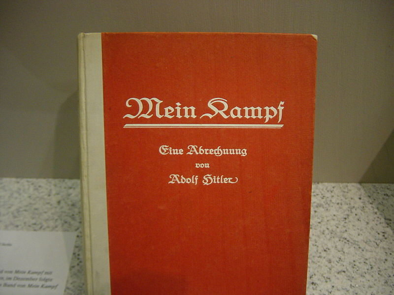 "Cover ""Mein Kampf"""