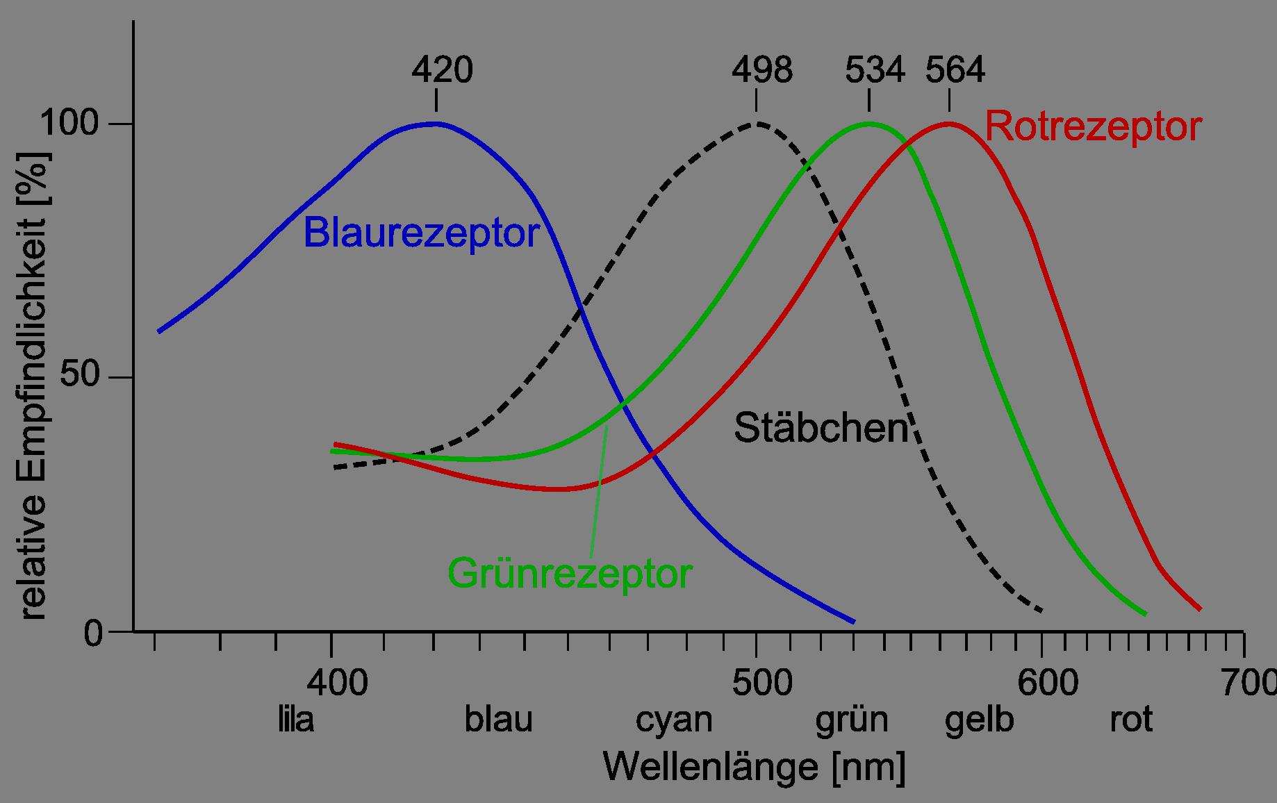 Farbwahrnehmung - Organische Chemie - Online-Kurse