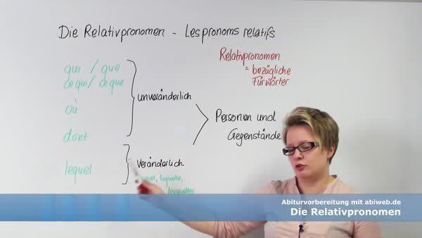 Lequel Französisch Grammatik Crashkurs