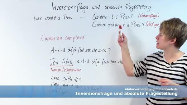 Der Fragesatz La Phrase Interrogative Online Kurse