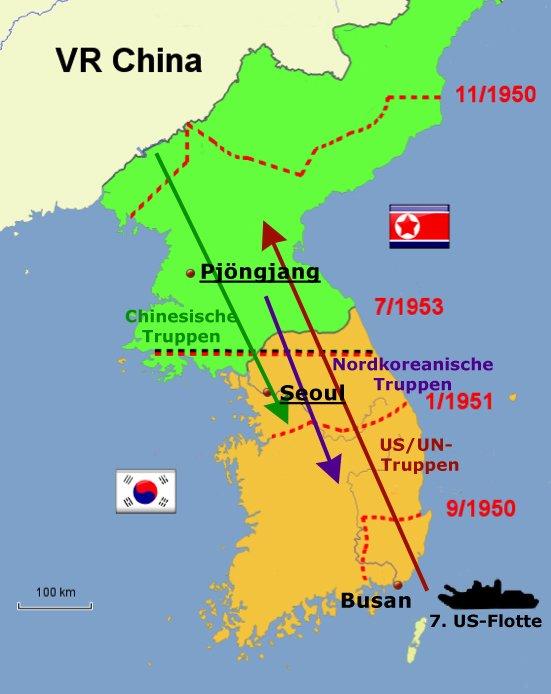 Kalter Krieg Karte.Der Korea Krieg Neuordnung Der Welt Nach 1945