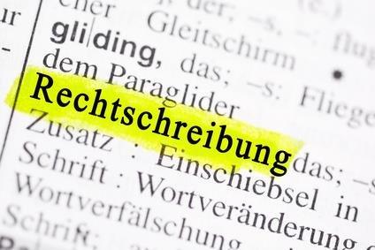 Die Deutsche Rechtschreibung Grammatik Crashkurs